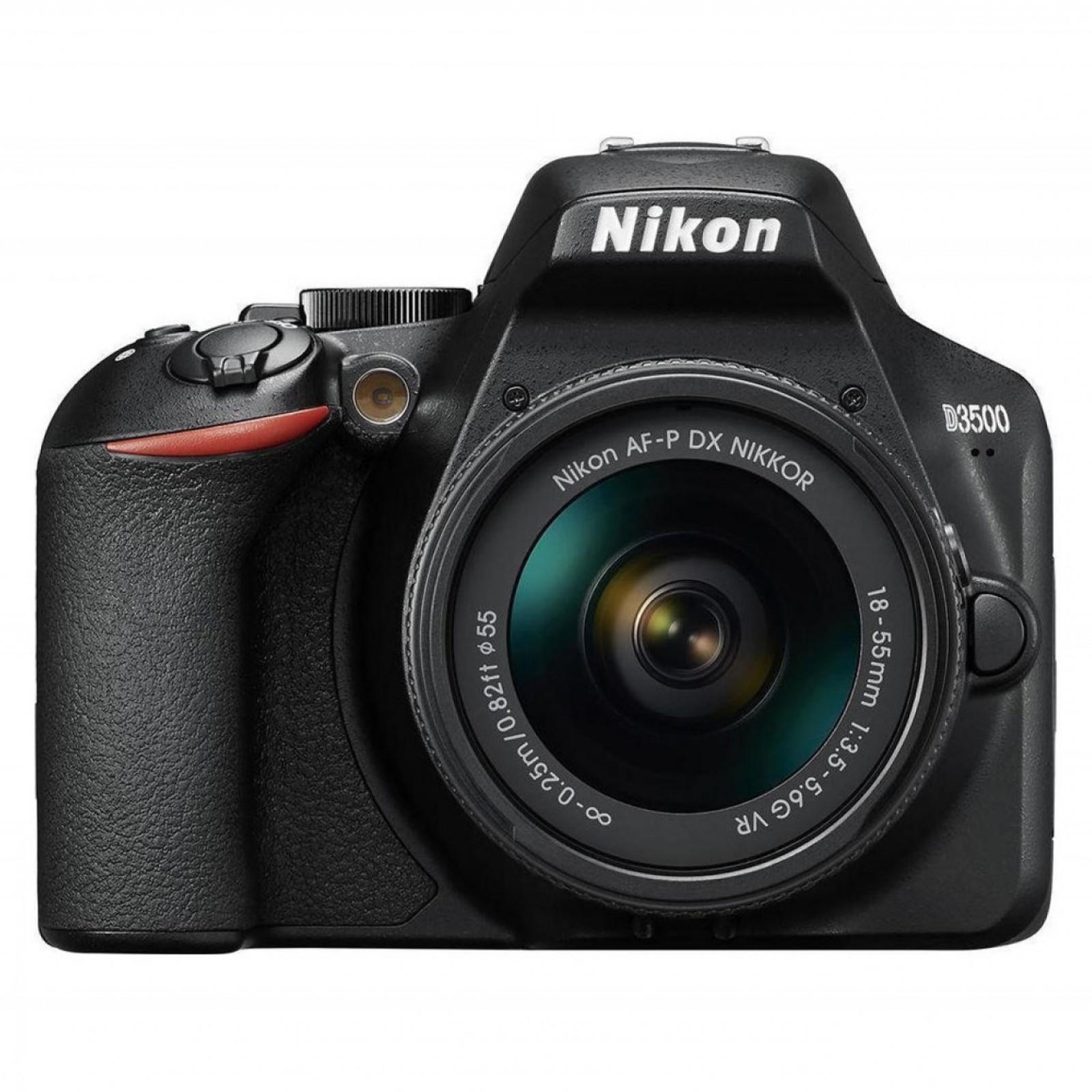 Nikon D3500 Kit (AF-P DX 18-55mm VR) Black