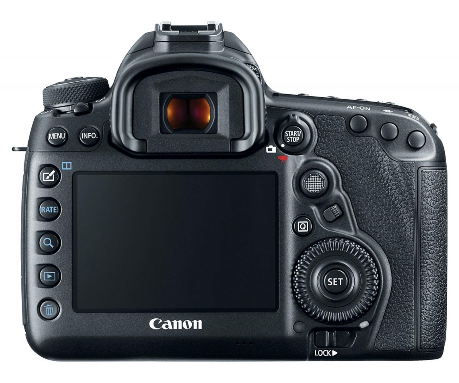 Canon EOS 5D Mark IV Kit (EF 24-105mm f/4L IS II USM) Black
